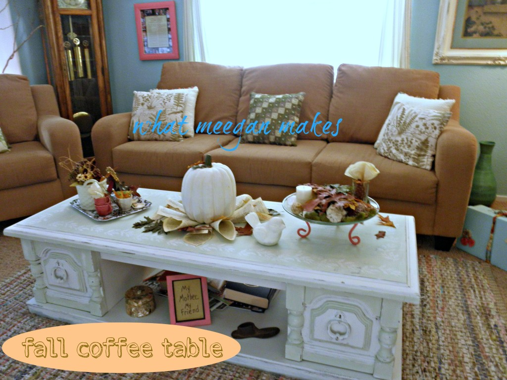 My Fall Coffee Table