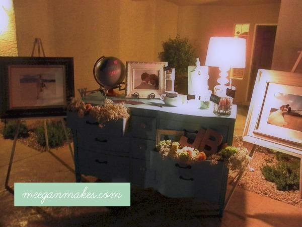 Jennie's wedding dresser