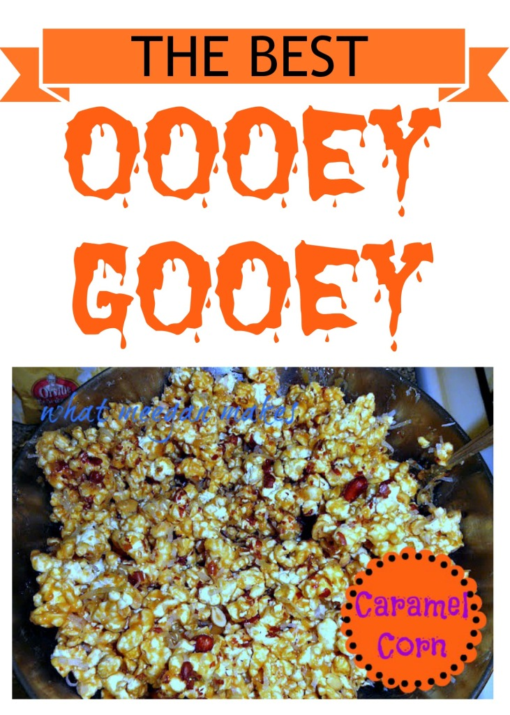 The Best oooey Gooey Caramel Corn