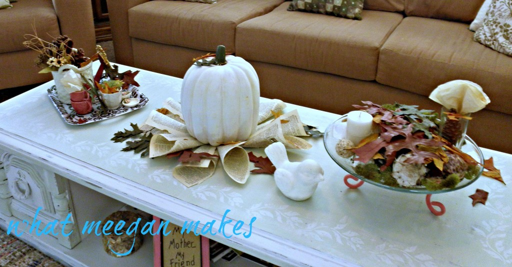 Six Easy Fall Decor Ideas What Meegan Makes