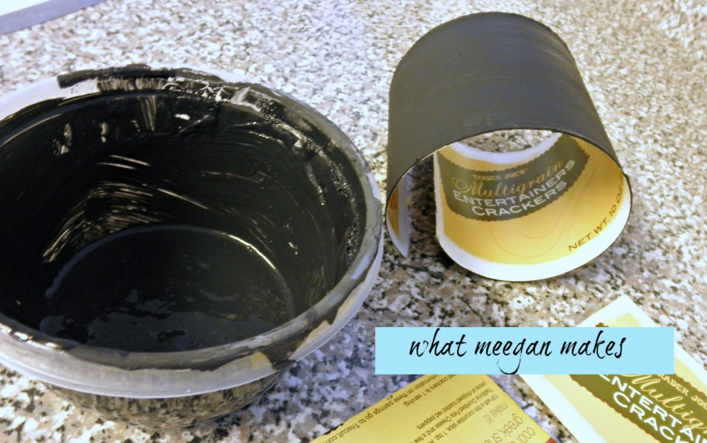 How To Make Cardboard Chalkboards
