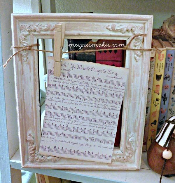 Book Page Christmas Hymn