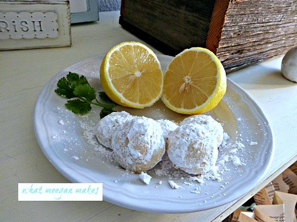 Butter Lemon Snow Drops