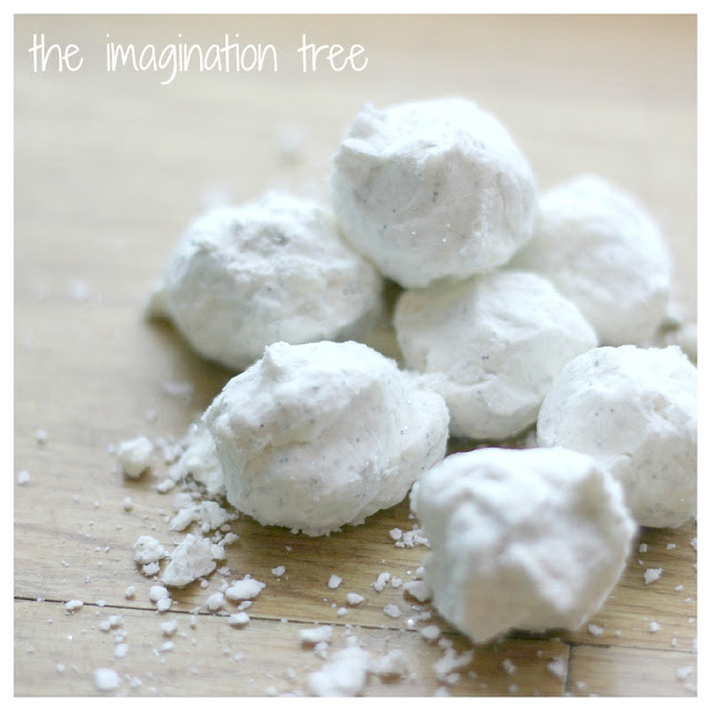Snow Dough Snowballs