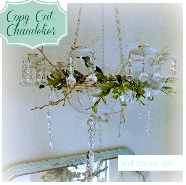 Copy Cat Chandelier