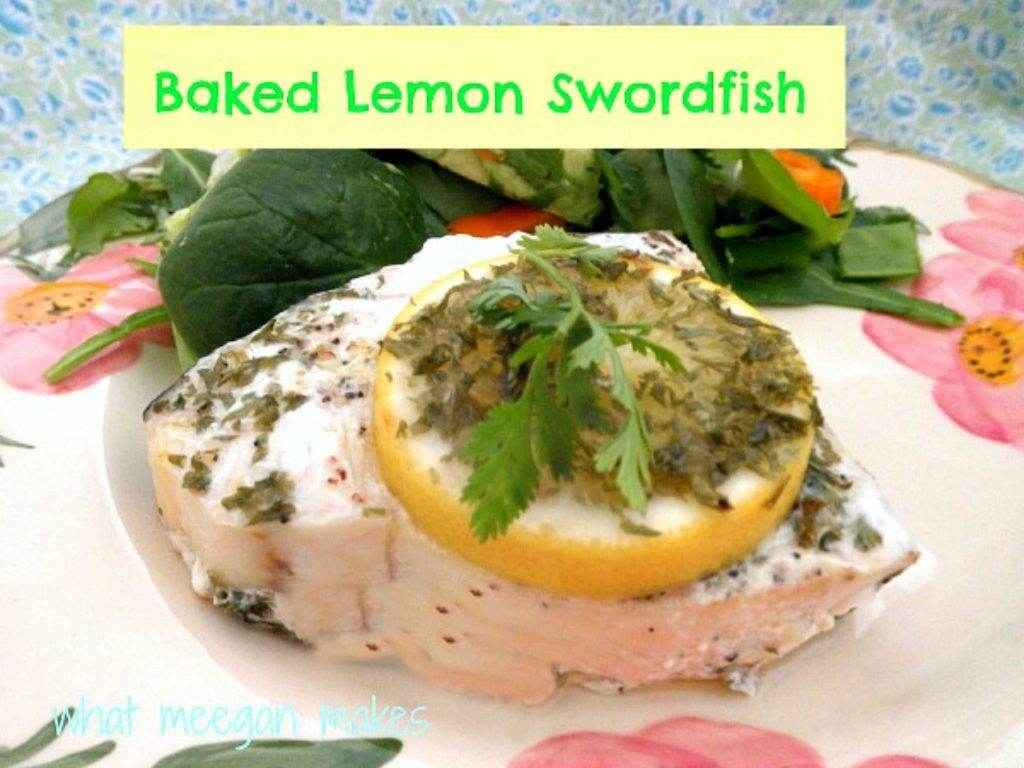 Lemon-Baked-Swordfish