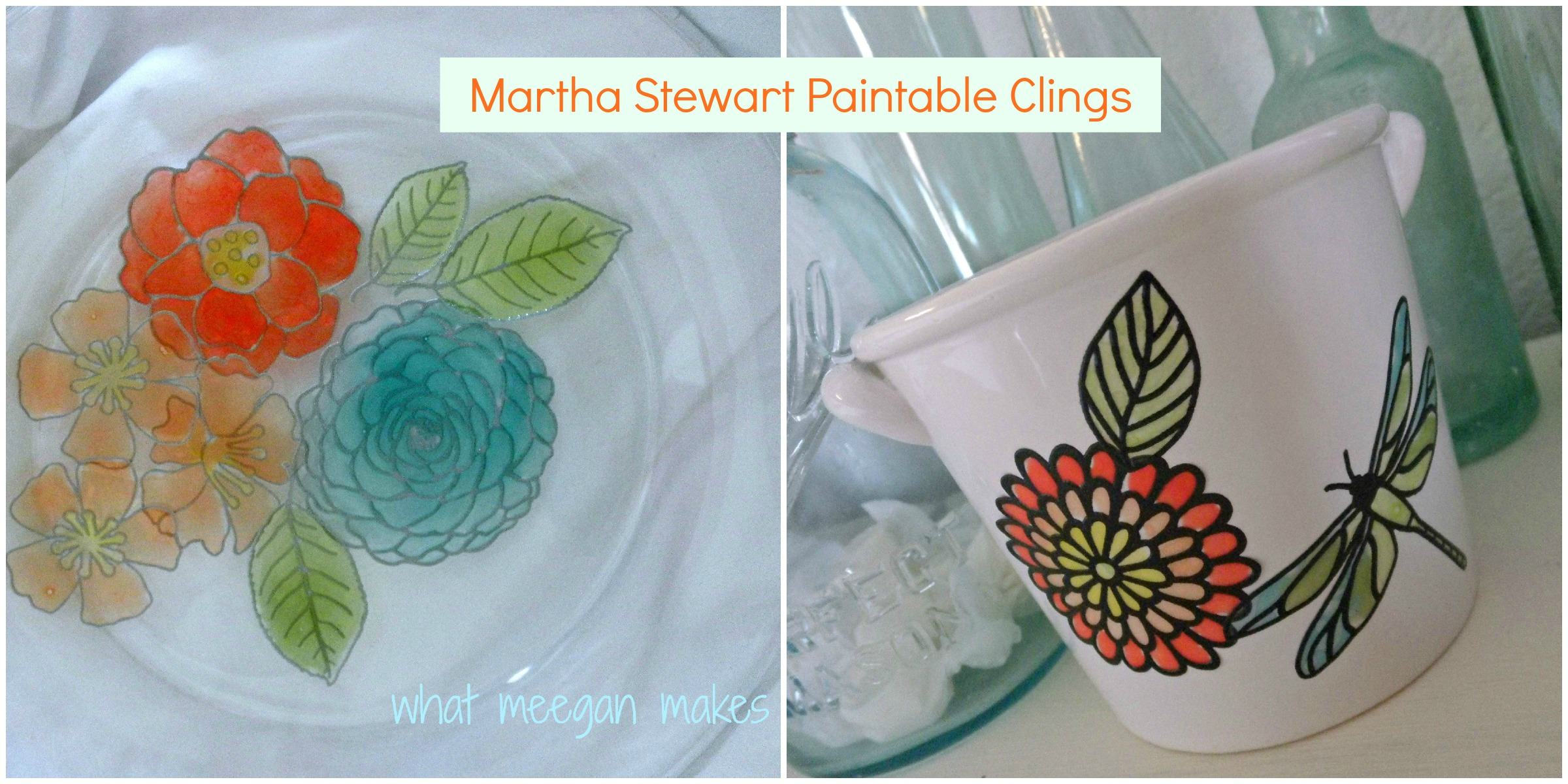 Martha Stewart Paintable Clings
