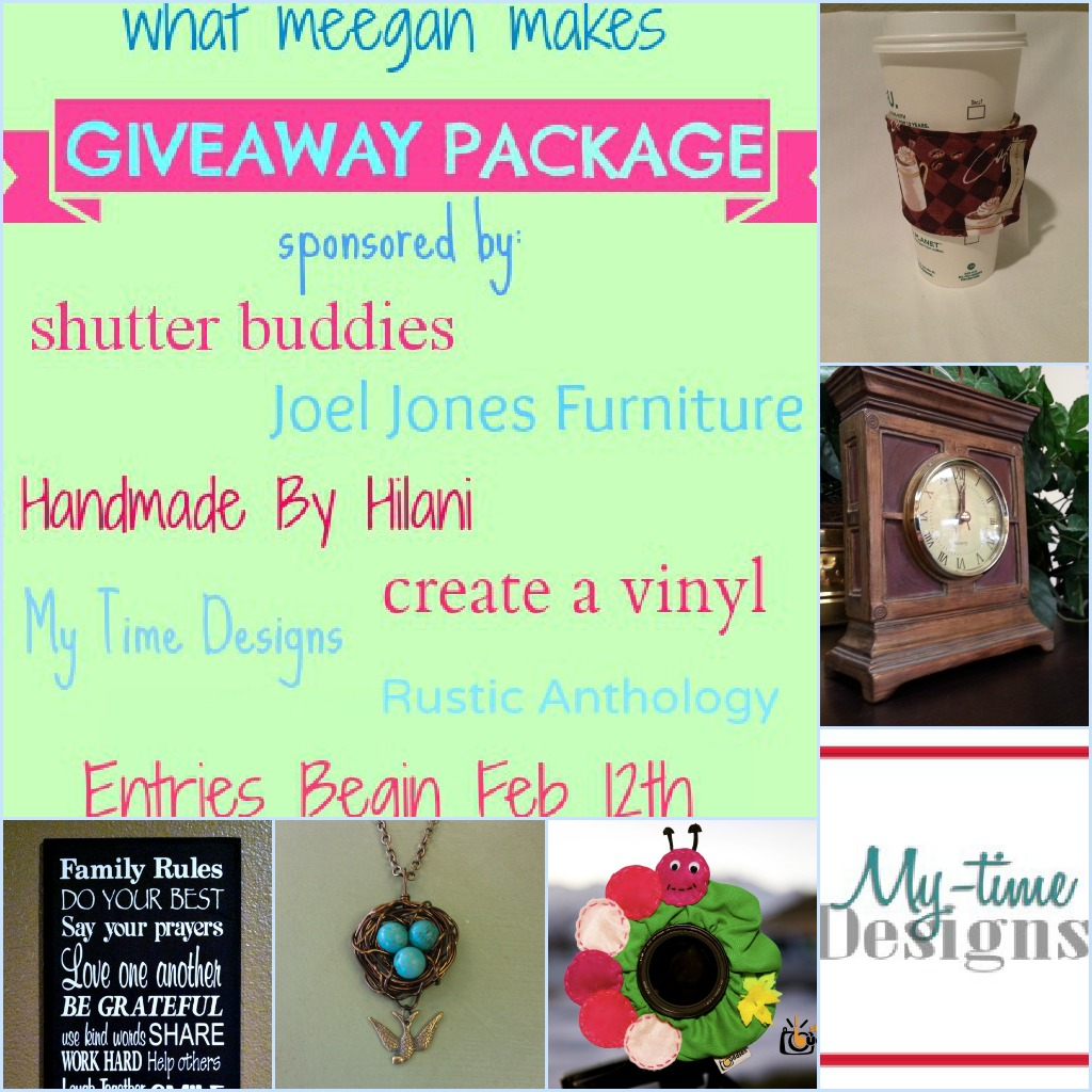 What Meegan Makes $100PLUS Giveaway Package