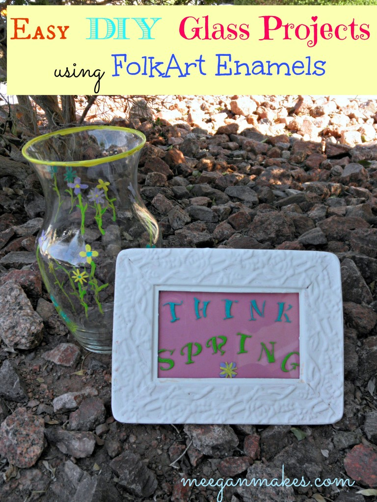 Think Spring with FolkArt Enamels