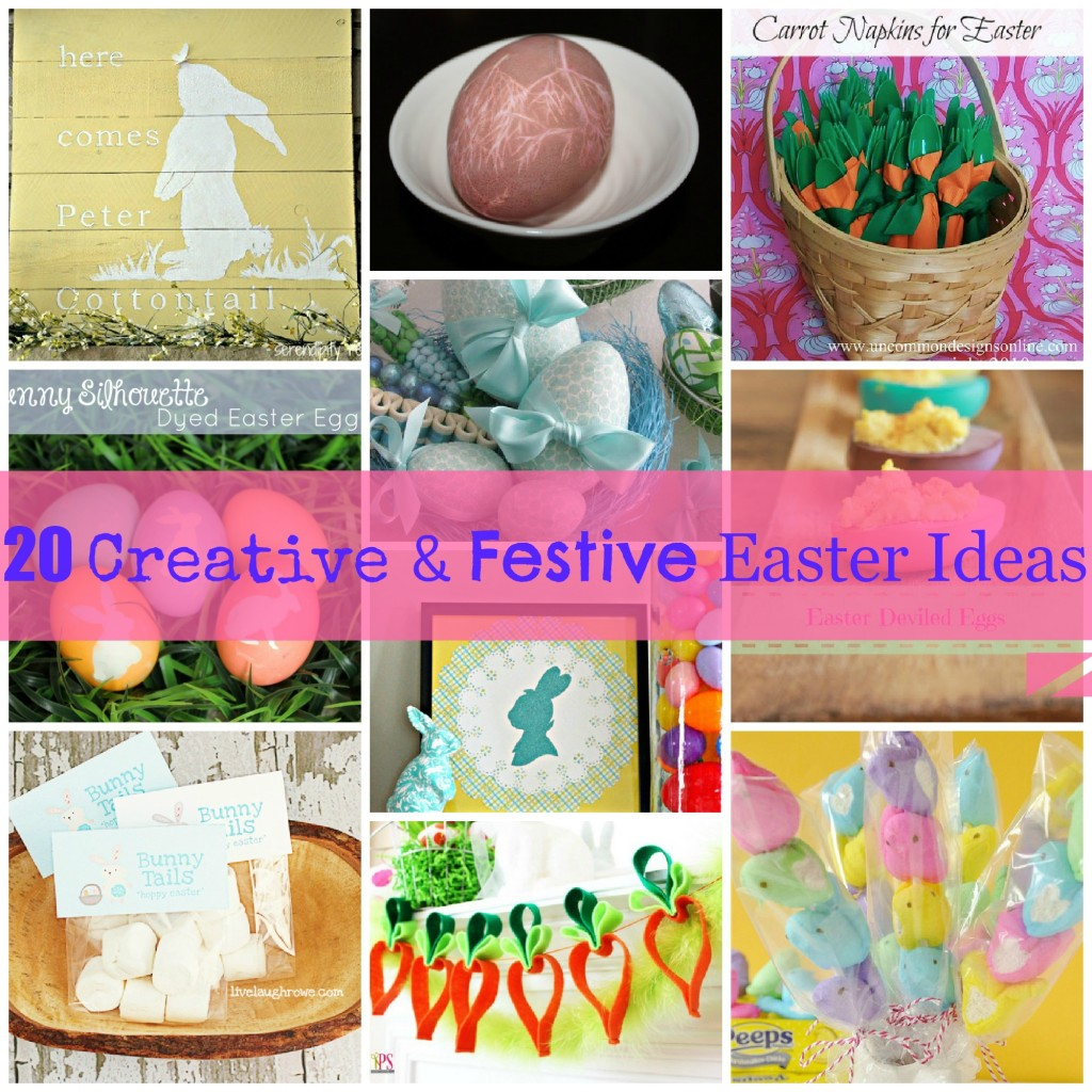 20 Creative & Festive Easter Ideas