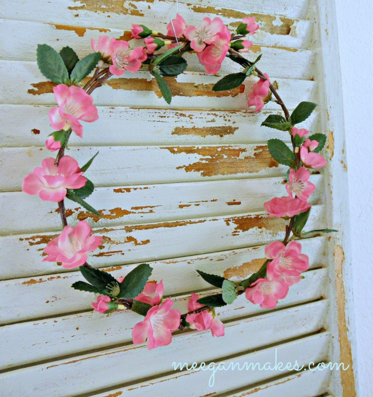 How To Make A Cherry Blossom Wreath
