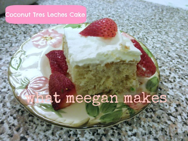 Coconut Tres Leches Cake