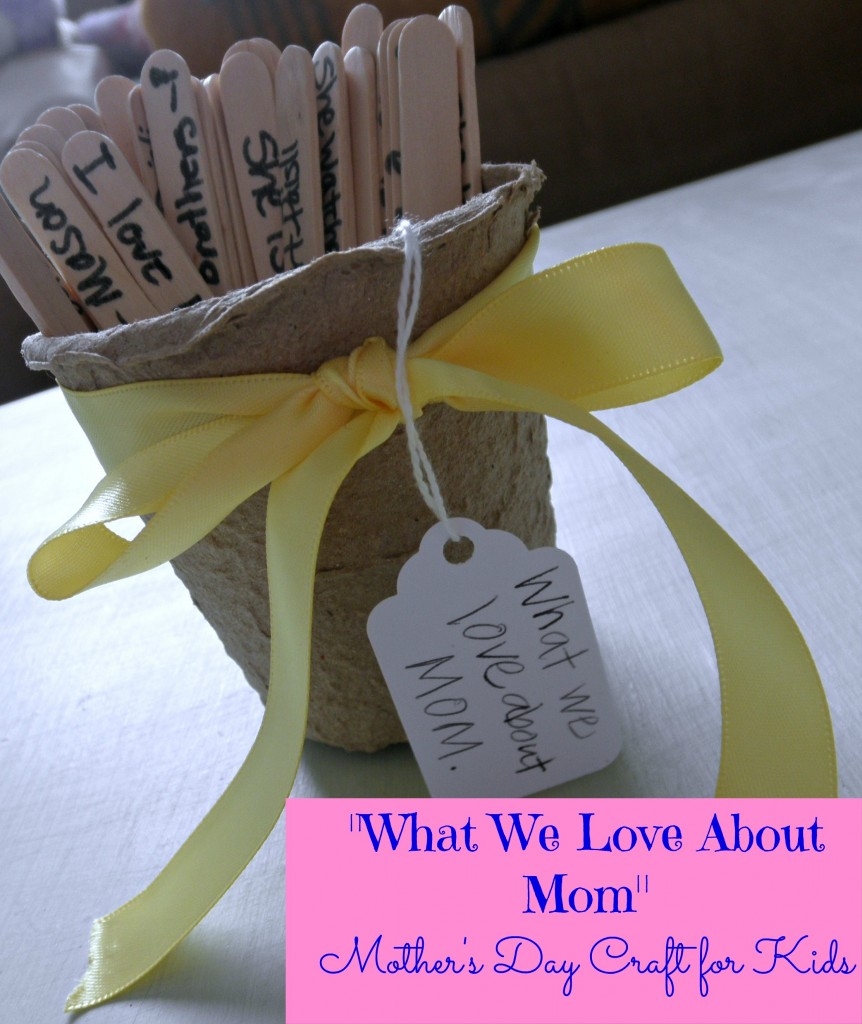 Simple Mother's Day Craft For Kids