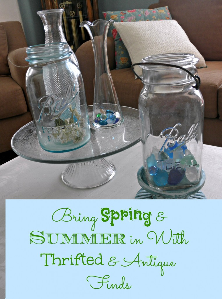 Bring Spring & Summer In with Thrifted & Antique Finds
