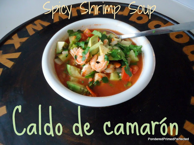 cdmspicy shrimp soup
