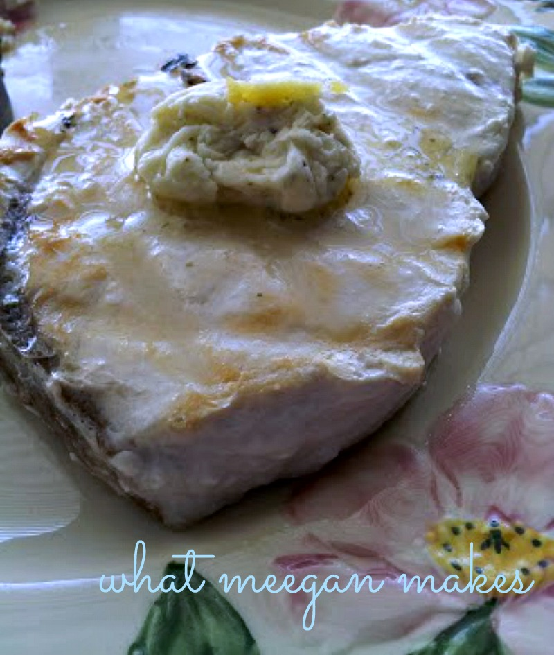 My Lemon Pepper Compound Butter Recipe for meat or fish