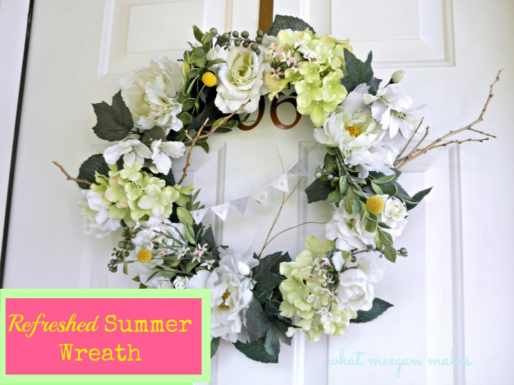 Refreshed Summer Wreath