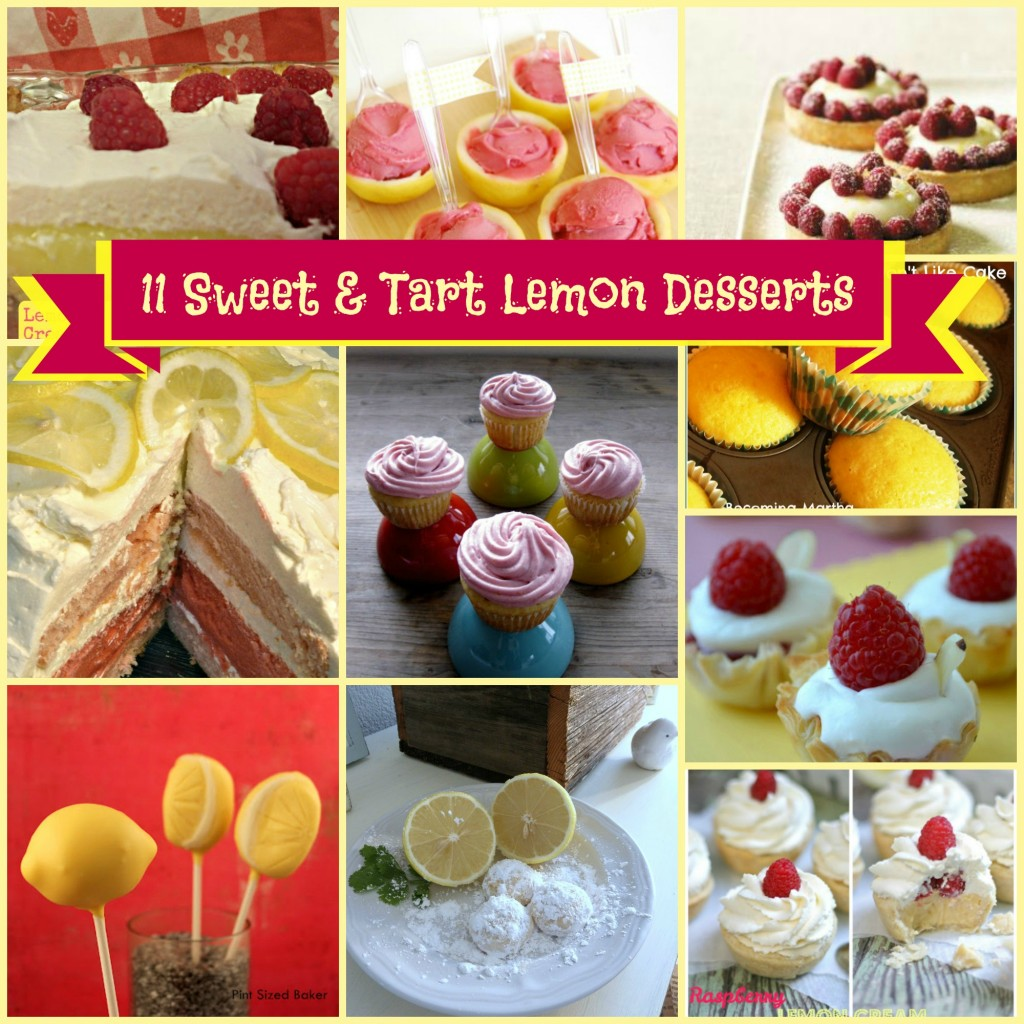 11 Sweet and Tart Lemon Desserts