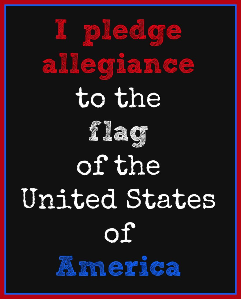 Pledge of Allegiance by meeganmakes.com