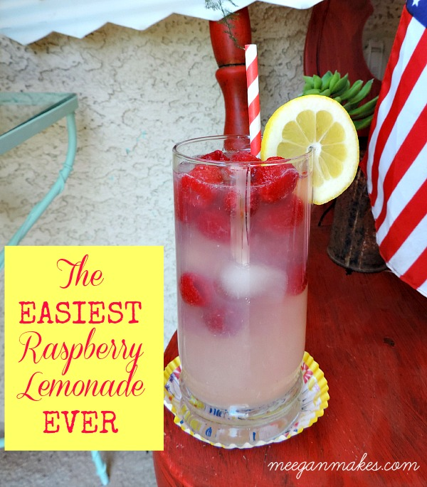 The EASIEST Raspberry Lemonade EVER
