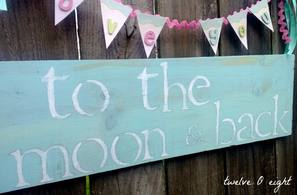 to the moon and back sign final