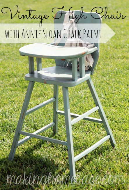 vintage-high-chair-with-annie-sloan-chalk-paint