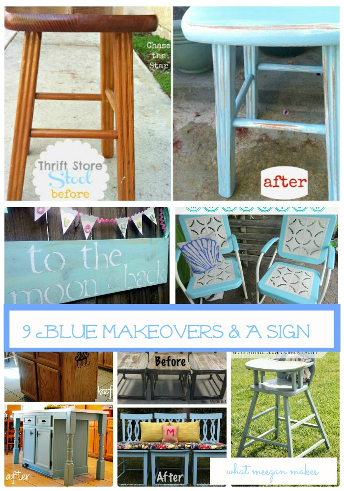 I've Got The Monday Blues-Makeovers & A Sign