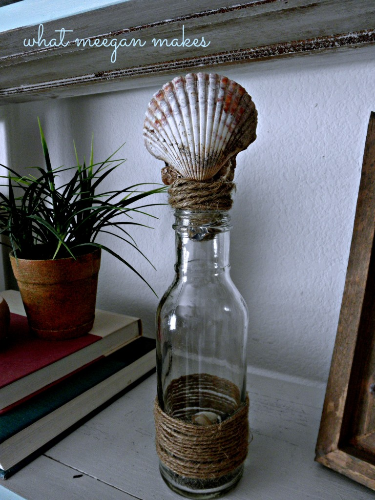 Beach Inspired Memory Jar