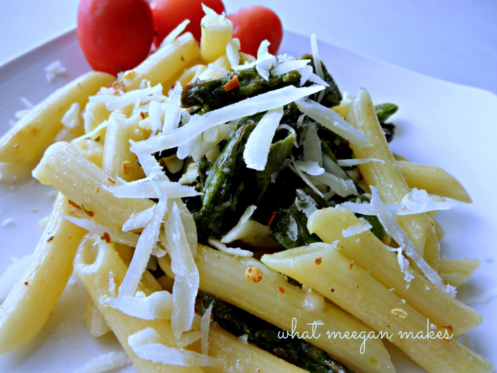 A Divine Asparagus and Pasta Meal