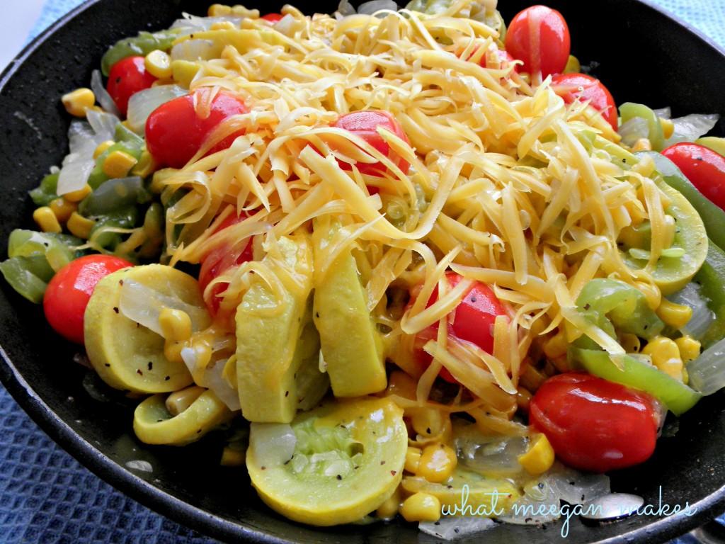Summer Veggie Skillet Meal