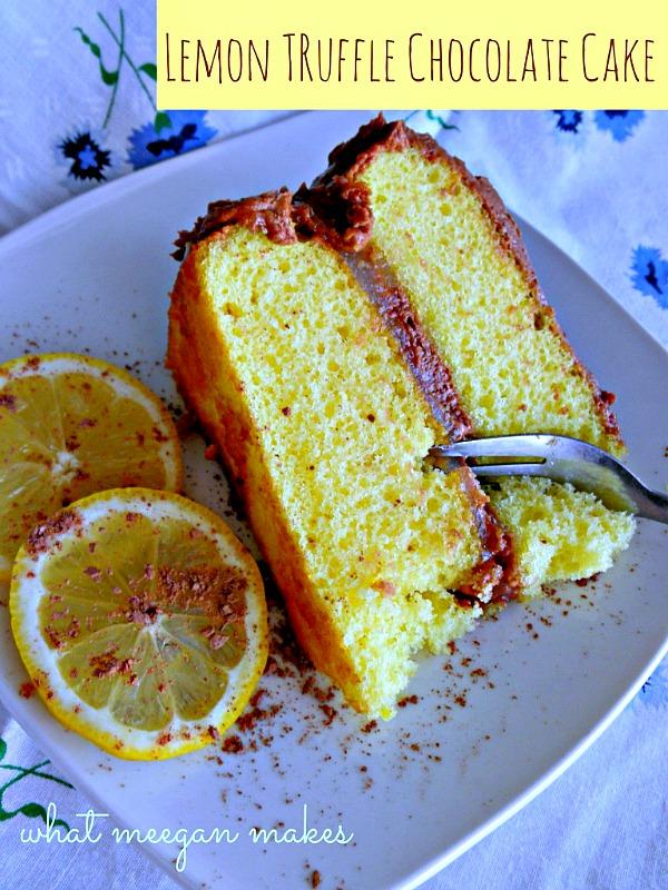 Lemon Tuffle Cake by meeganmakes
