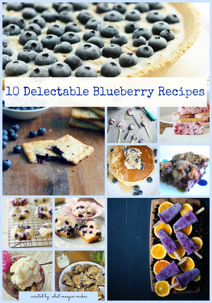 10 Delectable Blueberry Recipes