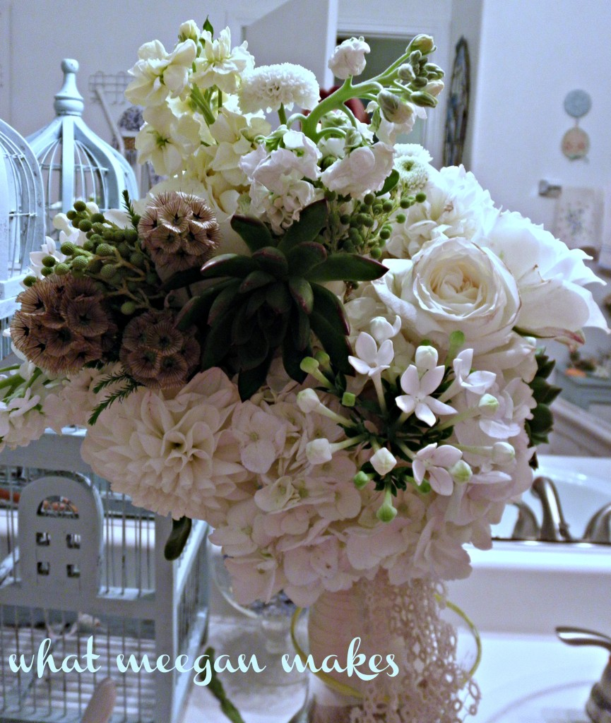 My Weekend Bridal Flowers