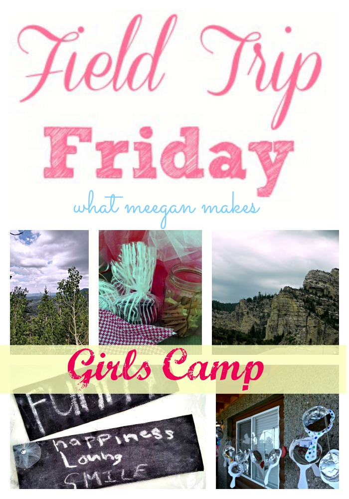 Field Trip Friday to girls camp
