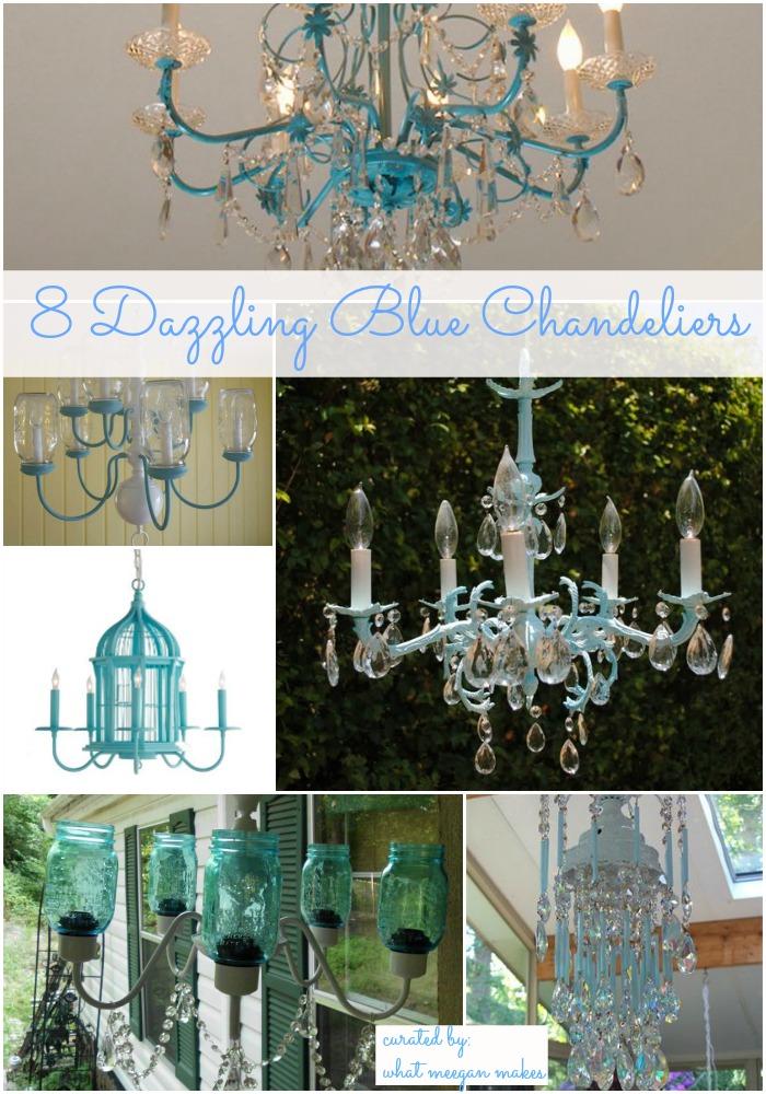 68 Dazzling Blu Chandeliers