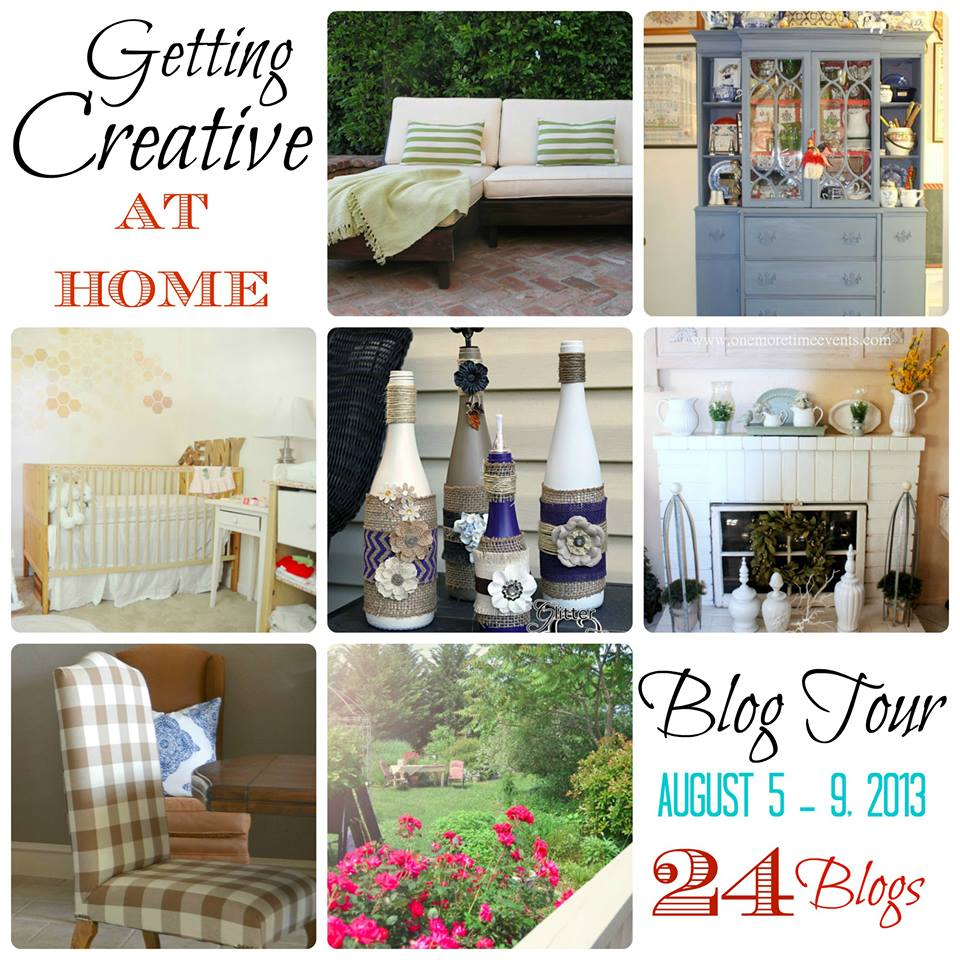 Getting Creative At Home {24 Blog Tour All Week Long}