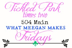 Tickled Pink Times Two Friday