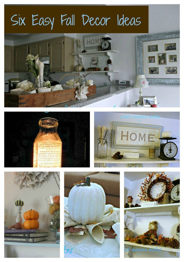 Six Easy Fall Decor Ideas