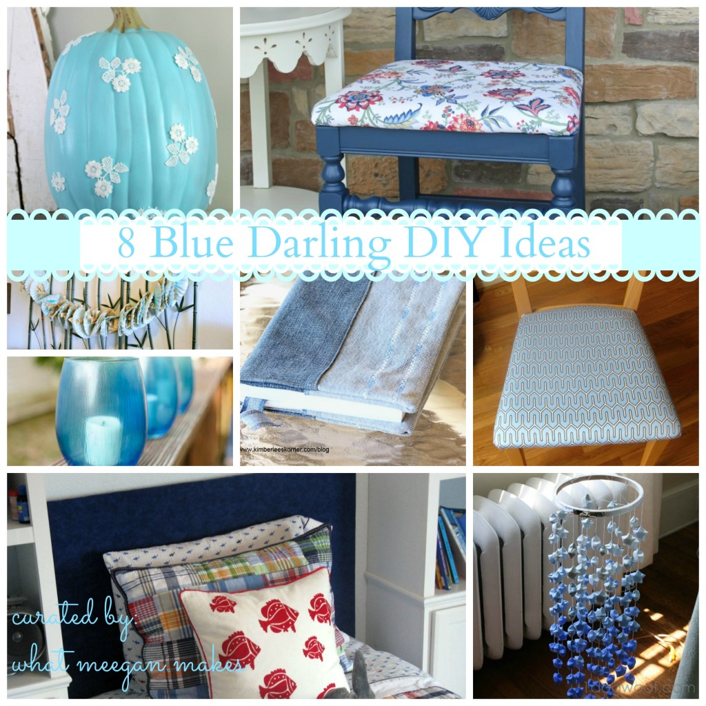 8 Blue Darling DIY Ideas