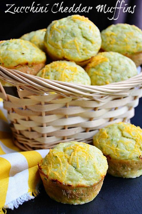 Cheddar-Zucchini-Muffins-1-c-willcookforsmiles.com-muffin