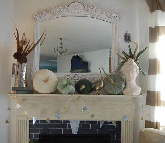 I Ve Got The Monday Blues With Blue Fall Decor