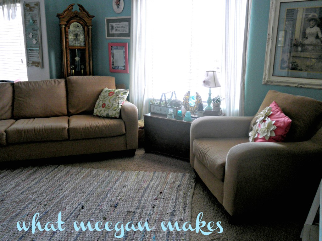 "My ""New"" Living Room Tour"