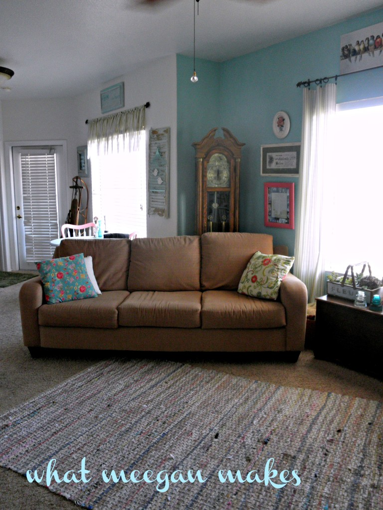 """My """"New"""" Living Room Tour"""