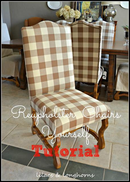 reupholstery tutorial