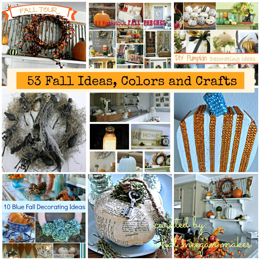 53 Fall,Ideas, Colors and Crafts