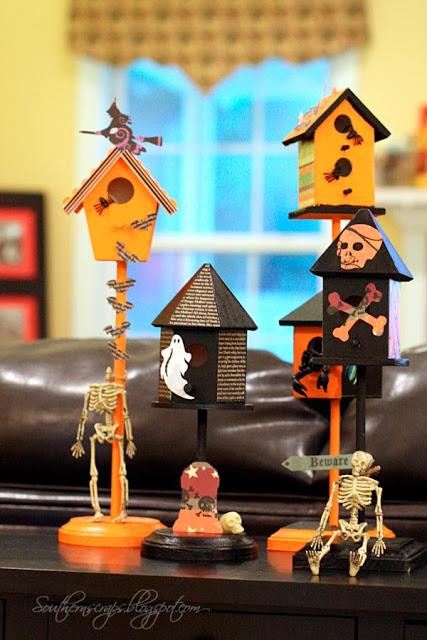 halloween-birdhouses