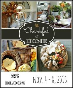 Thankful at Home