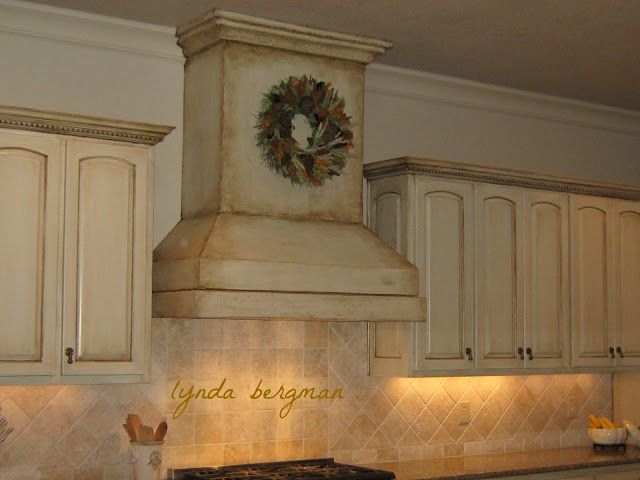 Painting a Stove Vent Hood