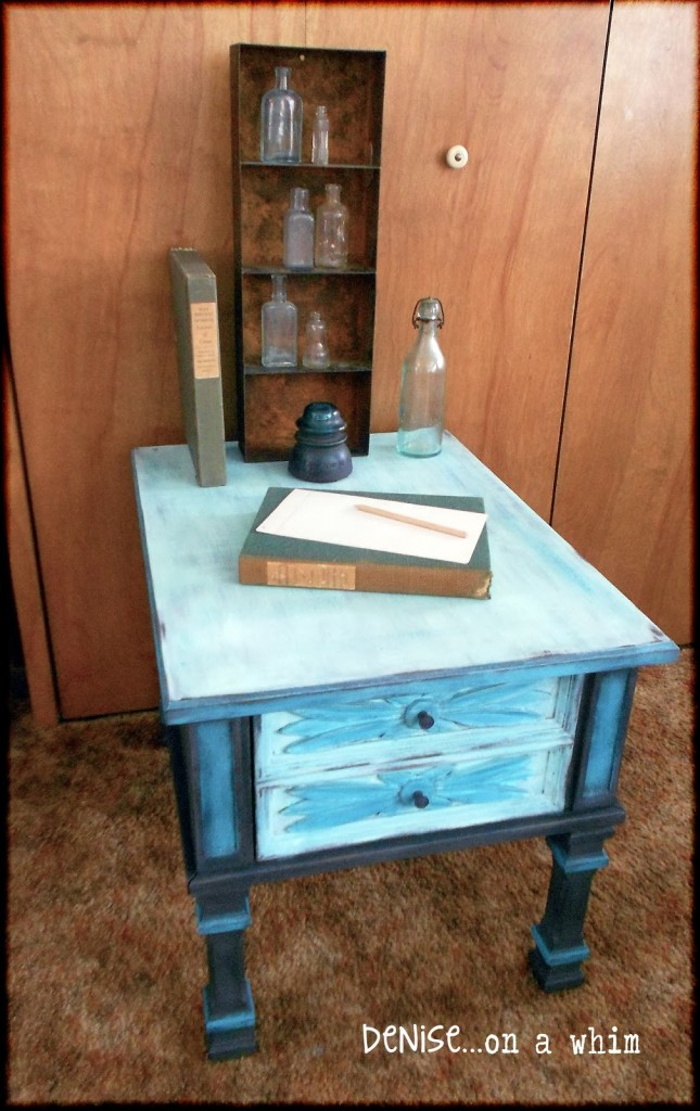 PeacockSideTable