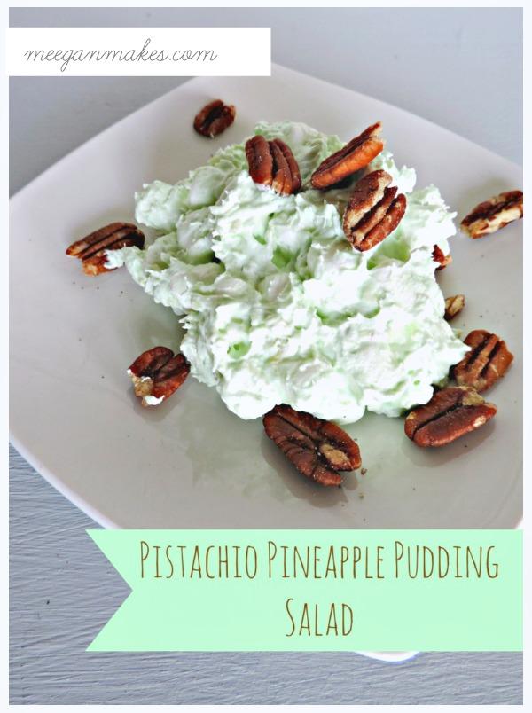 Pistachio Pineapple Marshmallow Salad